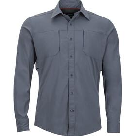 Marmot M's Trient LS Shirt Steel Onyx